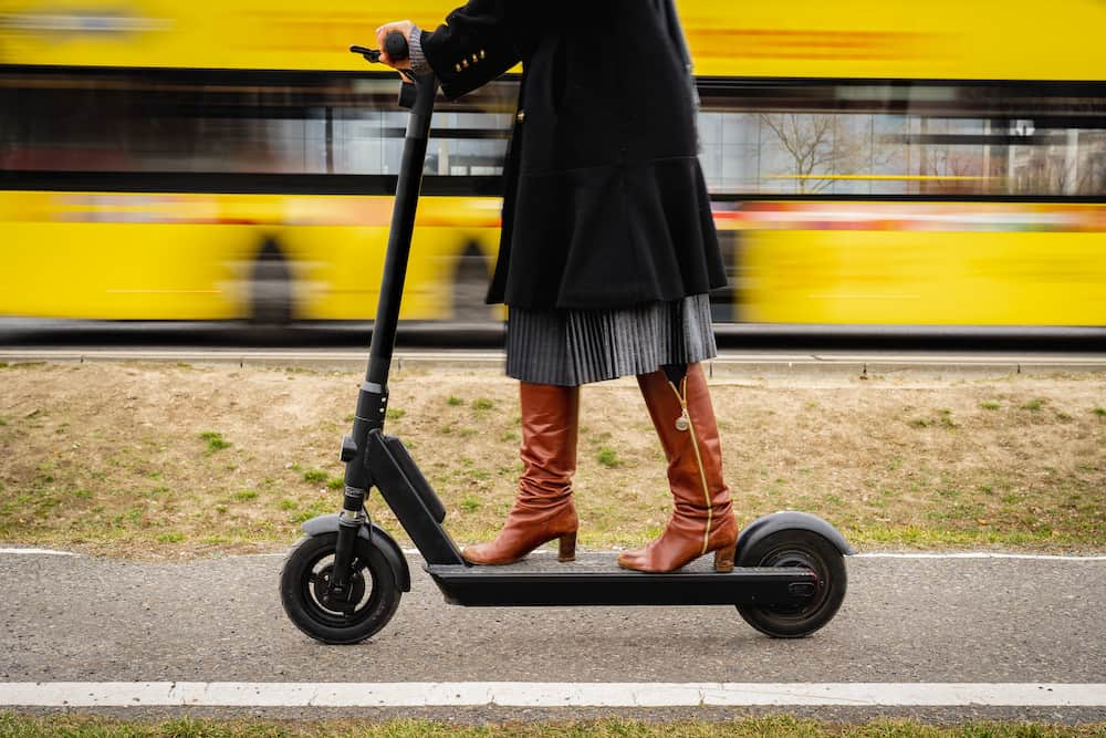 mercane wide wheel electric scooter review.