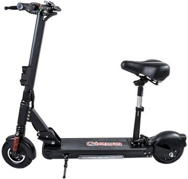 qiewa electric scooter with seat