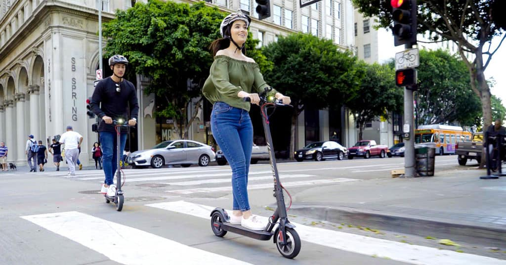 do you need to wear helmet when riding electric scooter