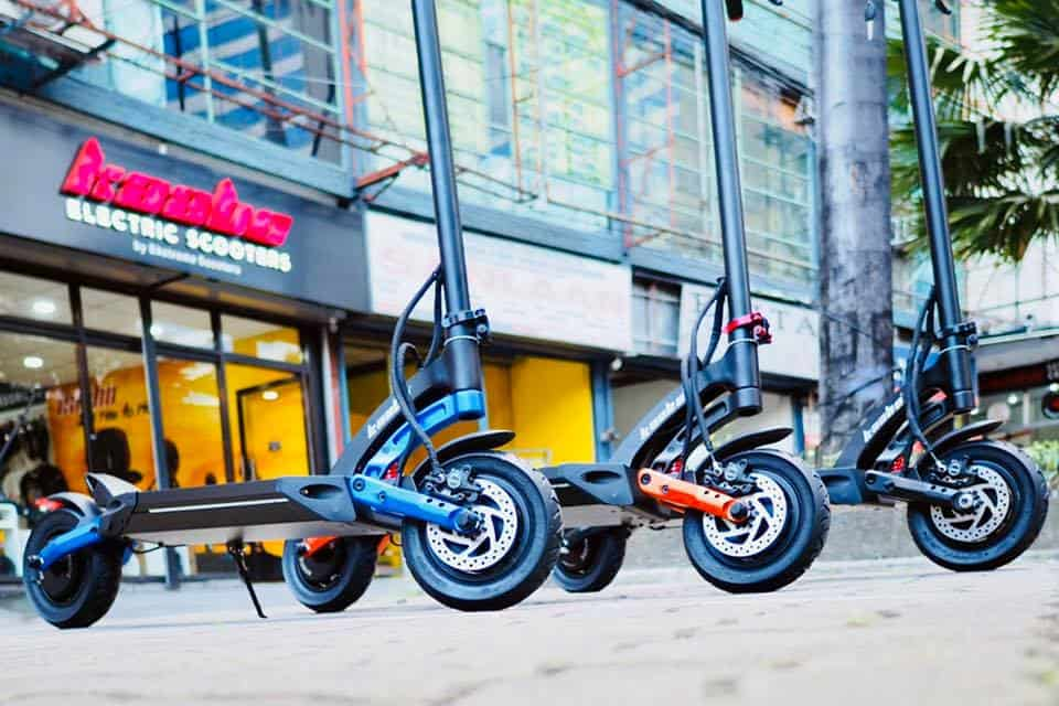 kaabo mantis electric scooter review