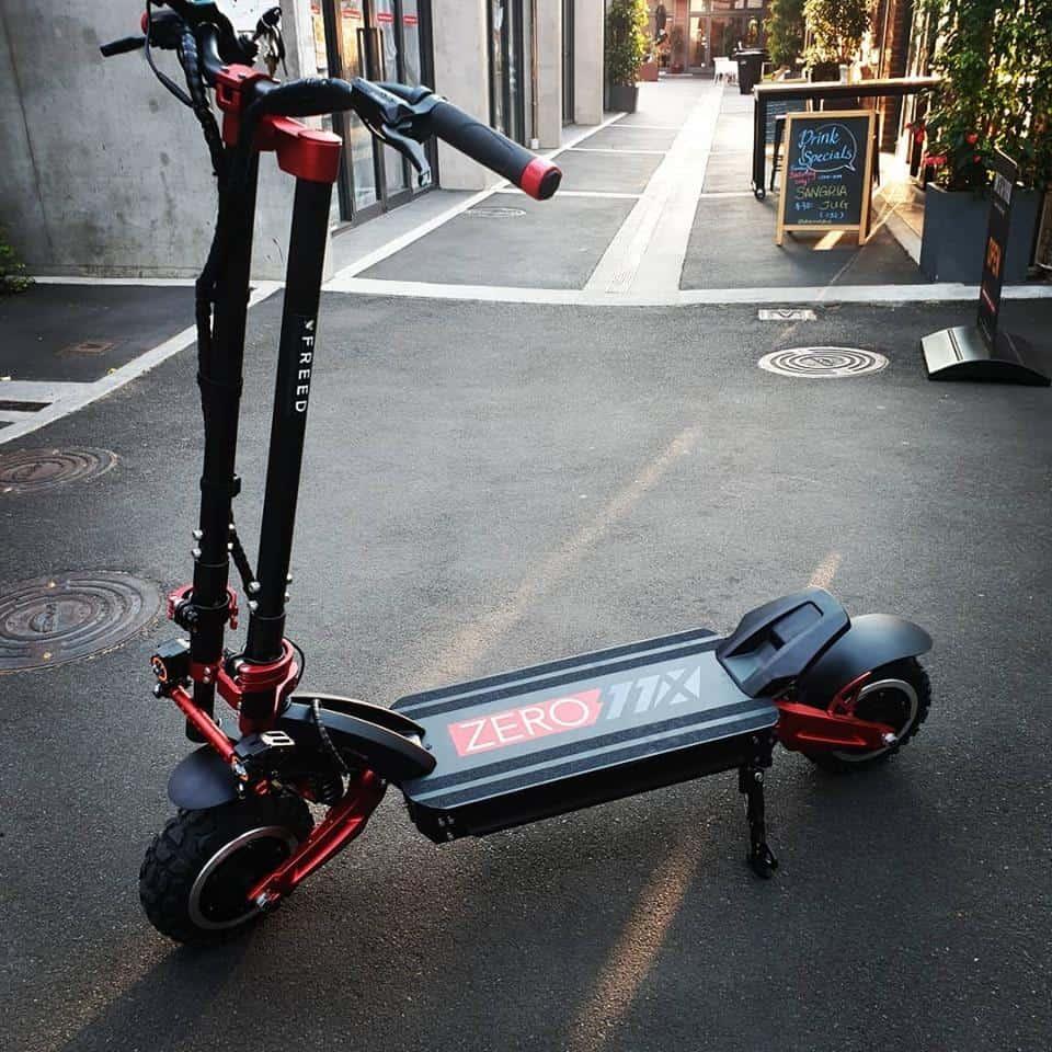 best zero electric scooter zero11x double motor