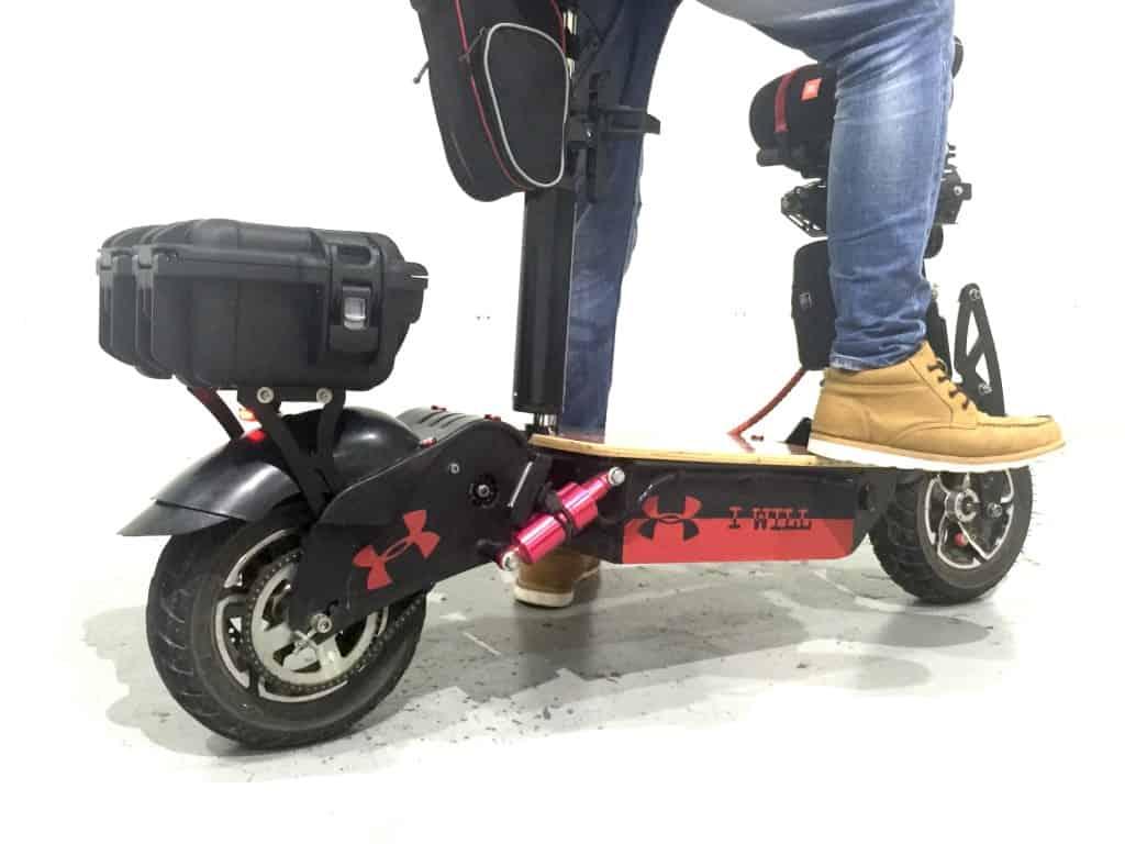 electric scooter Rear Box Bracket carbon revo