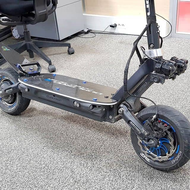 electric scooter customization carbon revo