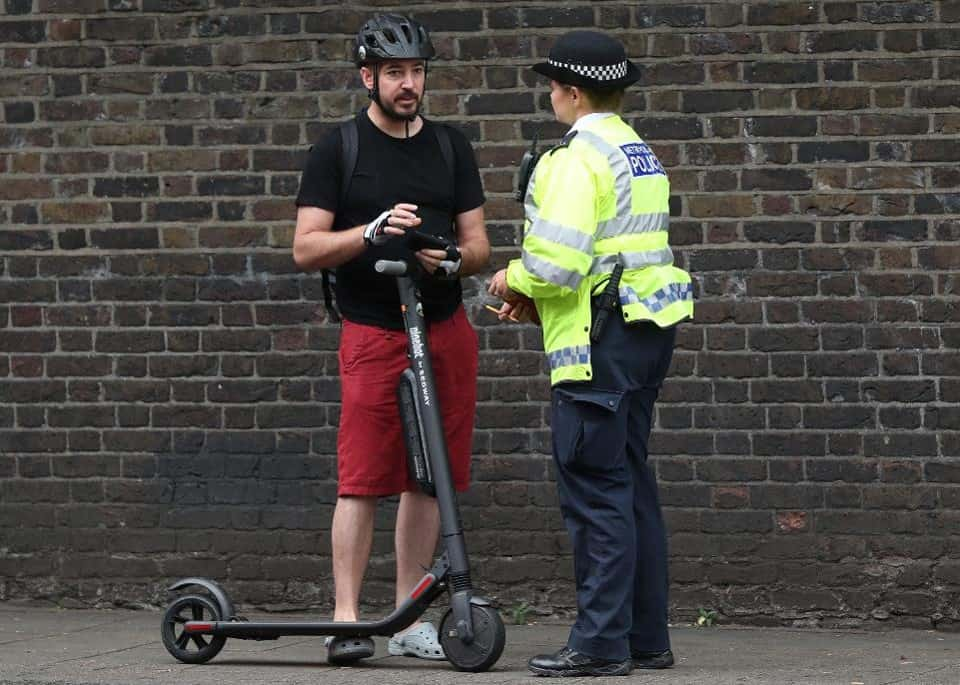 can you get a DUI on an electric scooter