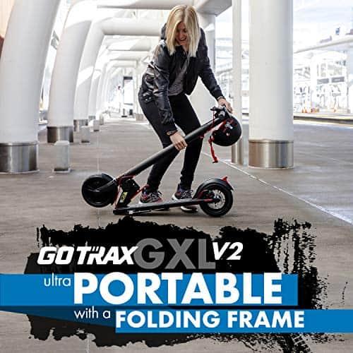 gotrax gxl v2 review portable folding frame
