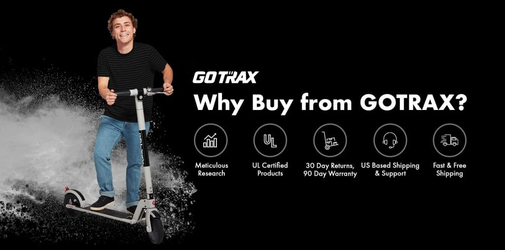 why buy gotrax electric scooter