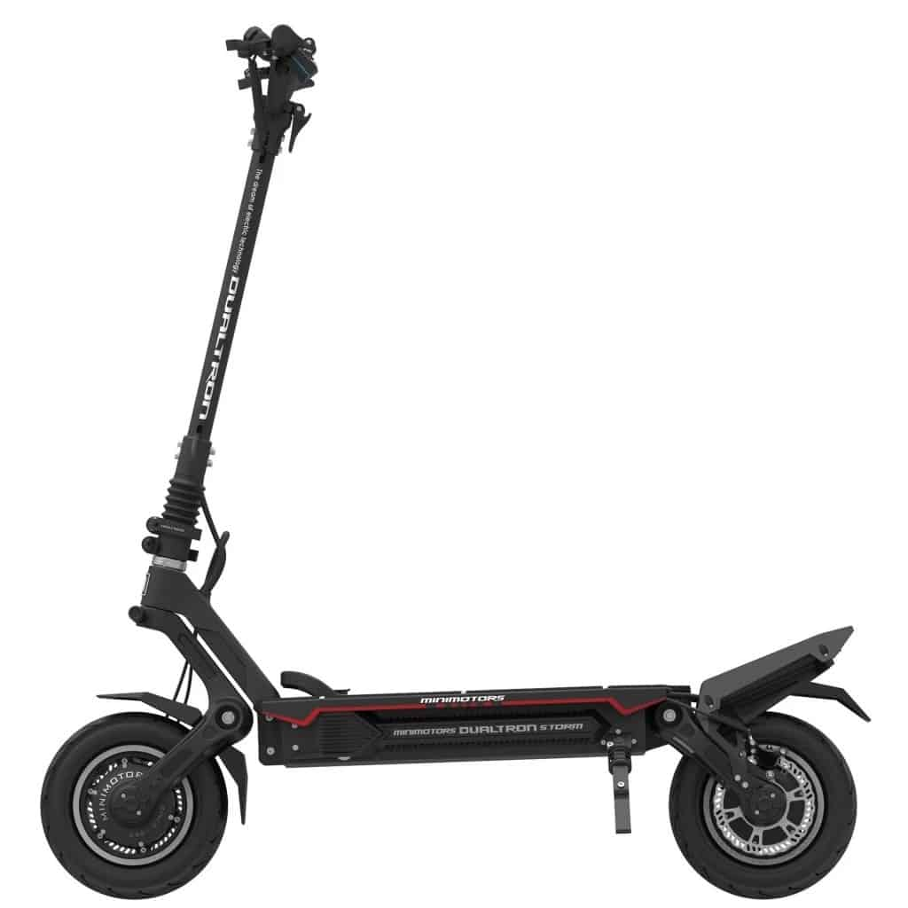dualtron storm electric scooter removable battery