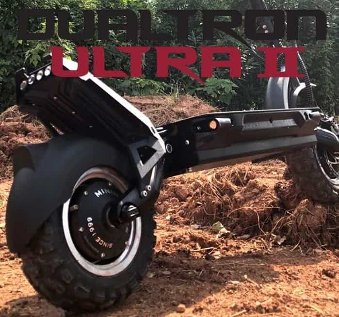 Dualtron Ultra 2 Review – New Off Road Electric Scooter from Minimotors