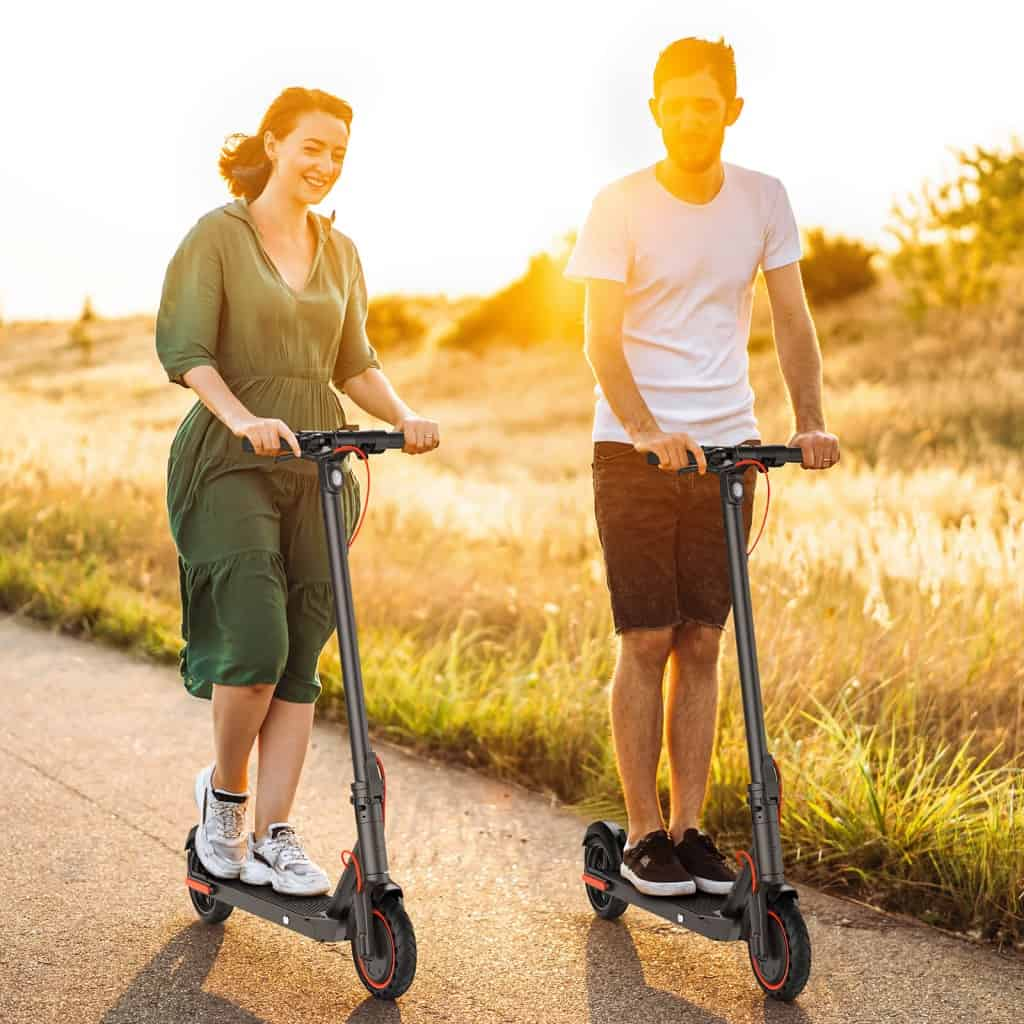 hiboy 2sr electric scooter lifestyle